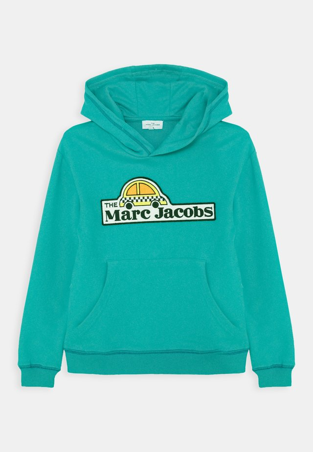 HOODED UNISEX - Huppari - green