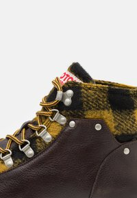 Scotch & Soda - LEVANT - Lace-up ankle boots - dark brown - 5