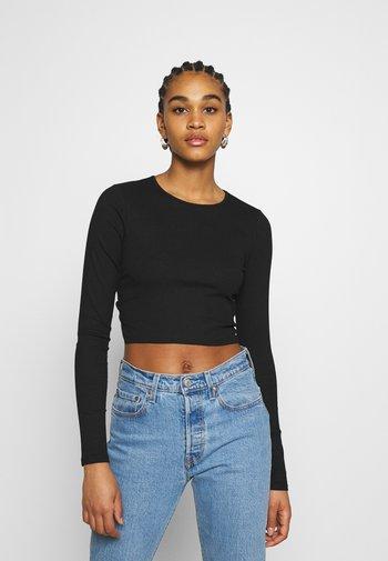 LINN - Long sleeved top - black dark