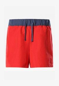 The North Face - W CLASS V SHORT - Sports shorts - horizon red/vintageindigo - 0