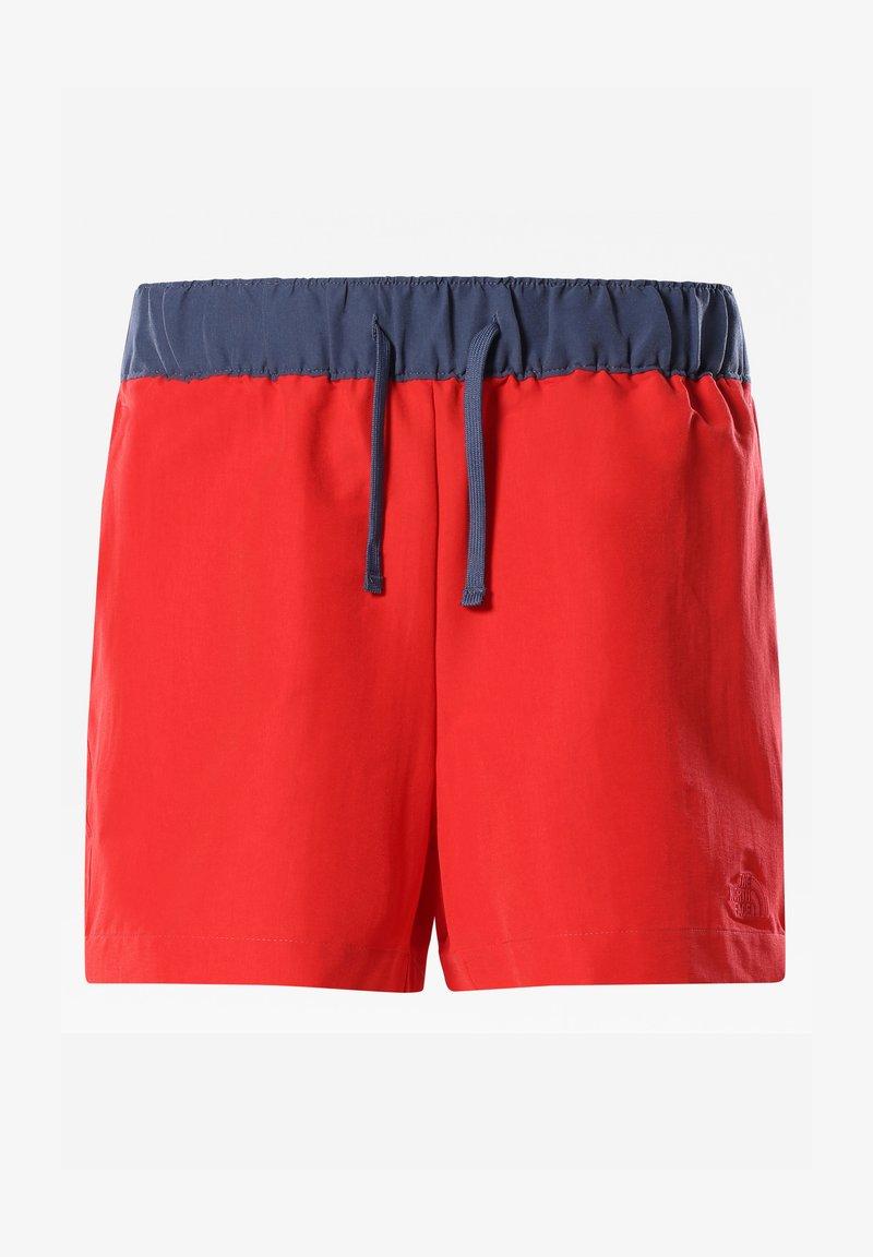 The North Face - W CLASS V SHORT - Sports shorts - horizon red/vintageindigo