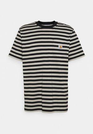 SCOTTY POCKET  - T-shirt con stampa - black/hammer