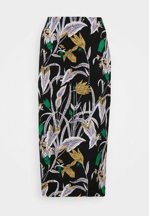 KARA - Pouzdrová sukně - black
