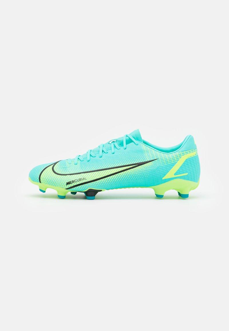 Nike Performance - MERCURIAL VAPOR 14 ACADEMY FG/MG - Tekonurmikengät - dynamic turquoise/lime glow
