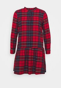 GAP Petite - Shirt dress - red - 4