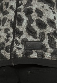 Topman - ANIMAL BORG JACKET - Winter jacket - grey - 5