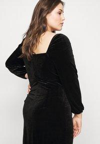 Glamorous Curve - BLACK MILKMAID DRESS - Kjole - black - 3