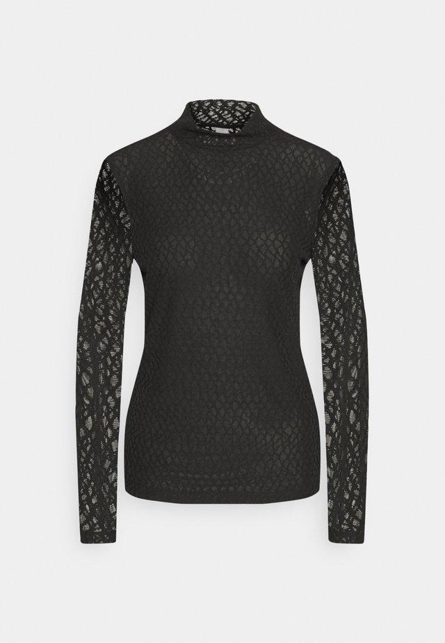 SC-NAVA 1 - T-shirt à manches longues - black