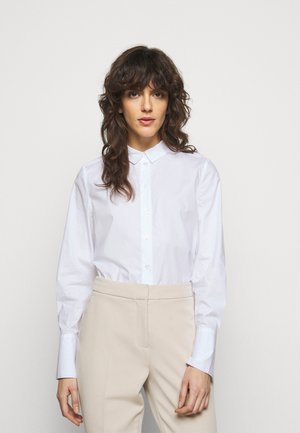 CALANI - Button-down blouse - pure white