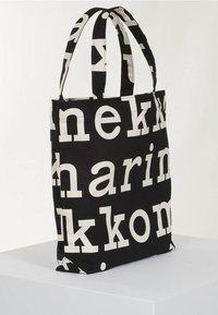 Marimekko - Tote bag - black/off white - 0
