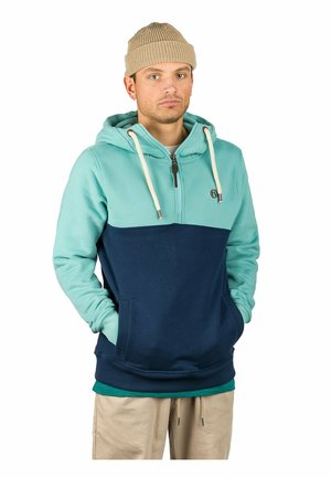 CLAUS - Hoodie - turquoise