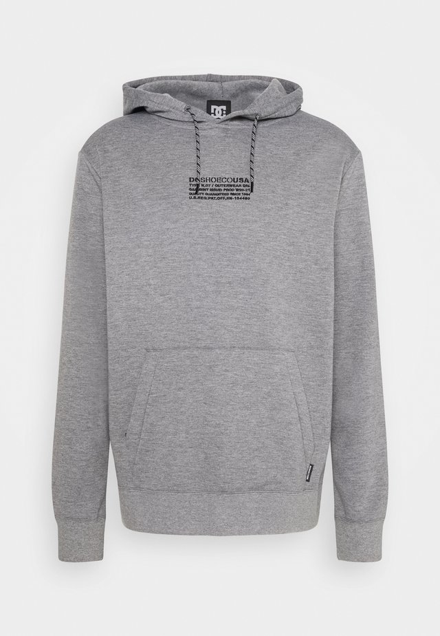 VERSE FLEECE - Sweat à capuche - frost_gray
