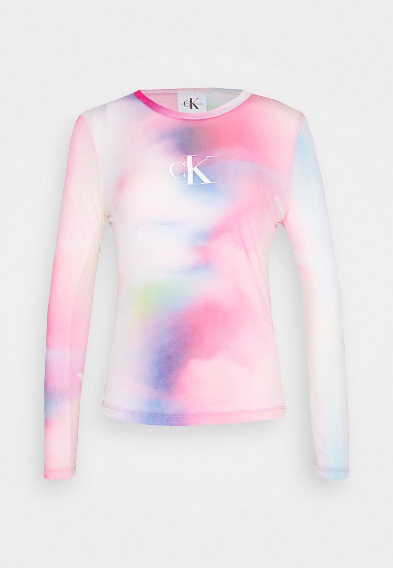 Calvin Klein Jeans - PRIDE - Long sleeved top - marble