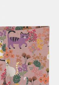 Lindex - MINI PRINT CATS - Leggings - dusty pink - 2