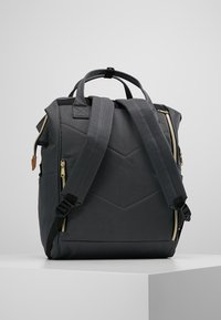 anello - TOTE BACKPACK COLOR BLOCK LARGE UNISEX - Rucksack - grey - 2