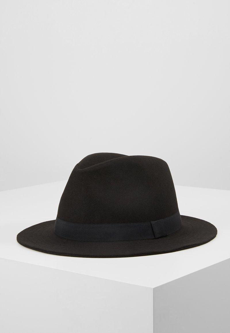 Only & Sons - ONSCARLO FEDORA HAT - Hattu - black