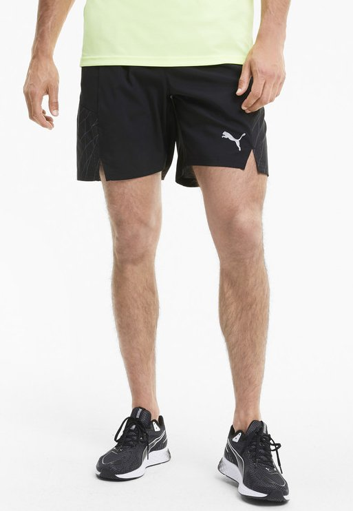Puma - Shorts - black-ultra gray