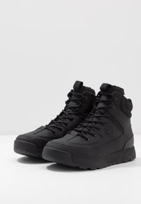 Lacoste - URBAN BREAKER - High-top trainers - black - 2