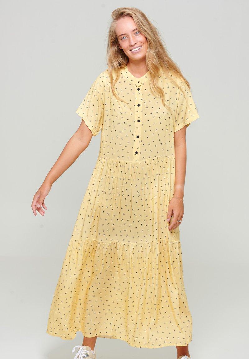Noella - LIPE - Maxi dress - tiny yellow
