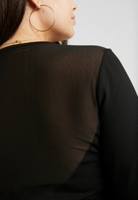 Even&Odd Curvy - Long sleeved top - black - 5