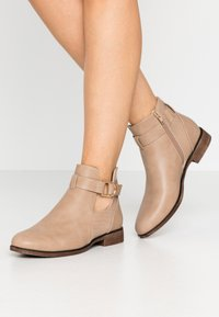 Anna Field - Ankelboots - taupe - 0