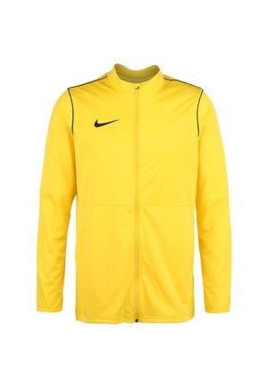 PARK - Training jacket - tour yellow / black