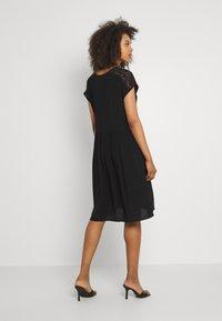 Vero Moda - VMNANCY KNEE DRESS - Day dress - black - 2