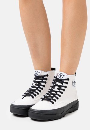 SENTRY  - High-top trainers - true white/black