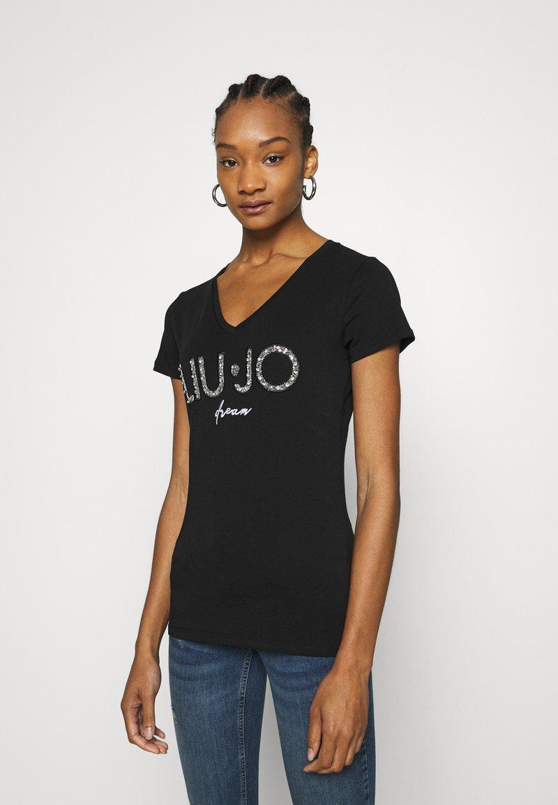 Liu Jo Jeans - MODA  - T-shirts print - nero