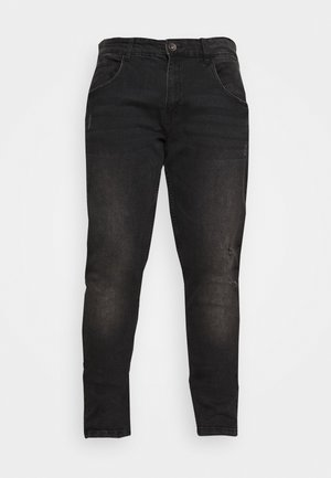 USGENEVE DESTROY - Slim fit jeans - edgy black