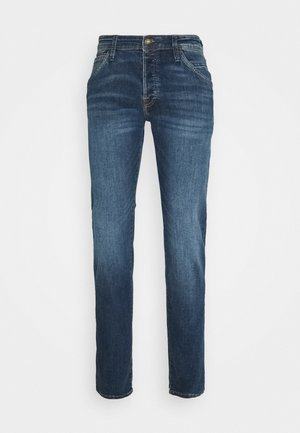 JJIGLENN JJFOX AGI NOOS - Vaqueros slim fit - blue denim