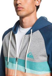 Quiksilver - EVERYDAY - Zip-up hoodie - light grey heather - 4