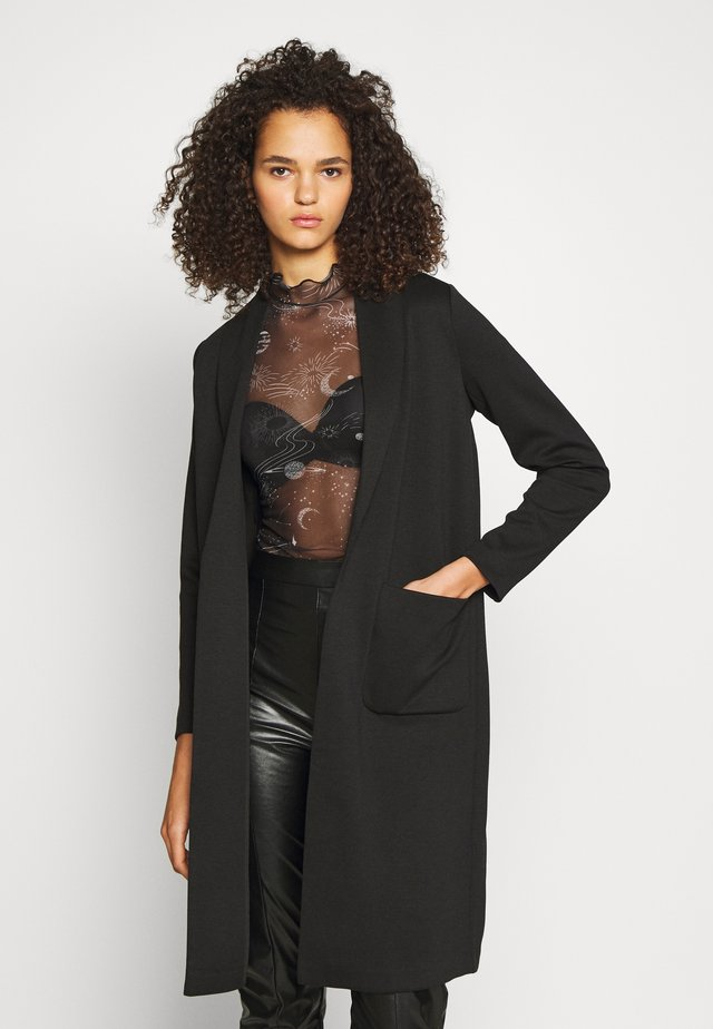 ONLSISSY DUSTER LONG COAT - Classic coat - black