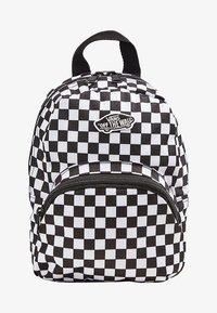 Vans - WM GOT THIS MINI BACKPACK - Rucksack - black-white checkerboard - 1