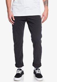 Quiksilver - KRANDY - Trousers - black - 0