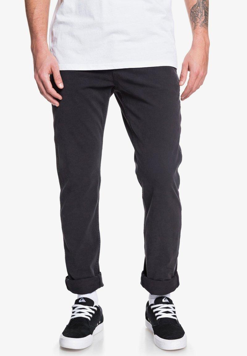 Quiksilver - KRANDY - Trousers - black