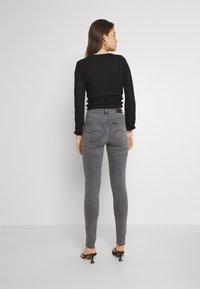 Lee - SCARLETT HIGH - Jeans Skinny - grey holly - 2