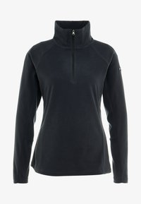 Columbia - GLACIAL 1/2 ZIP - Fleece jumper - black - 4