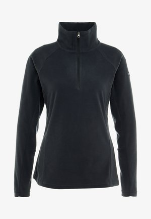 GLACIAL 1/2 ZIP - Fleecepullover - black