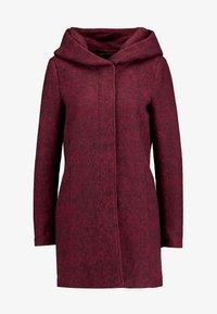 ONLY - ONLSEDONA MARIE COAT - Short coat - tawny port/melange - 5