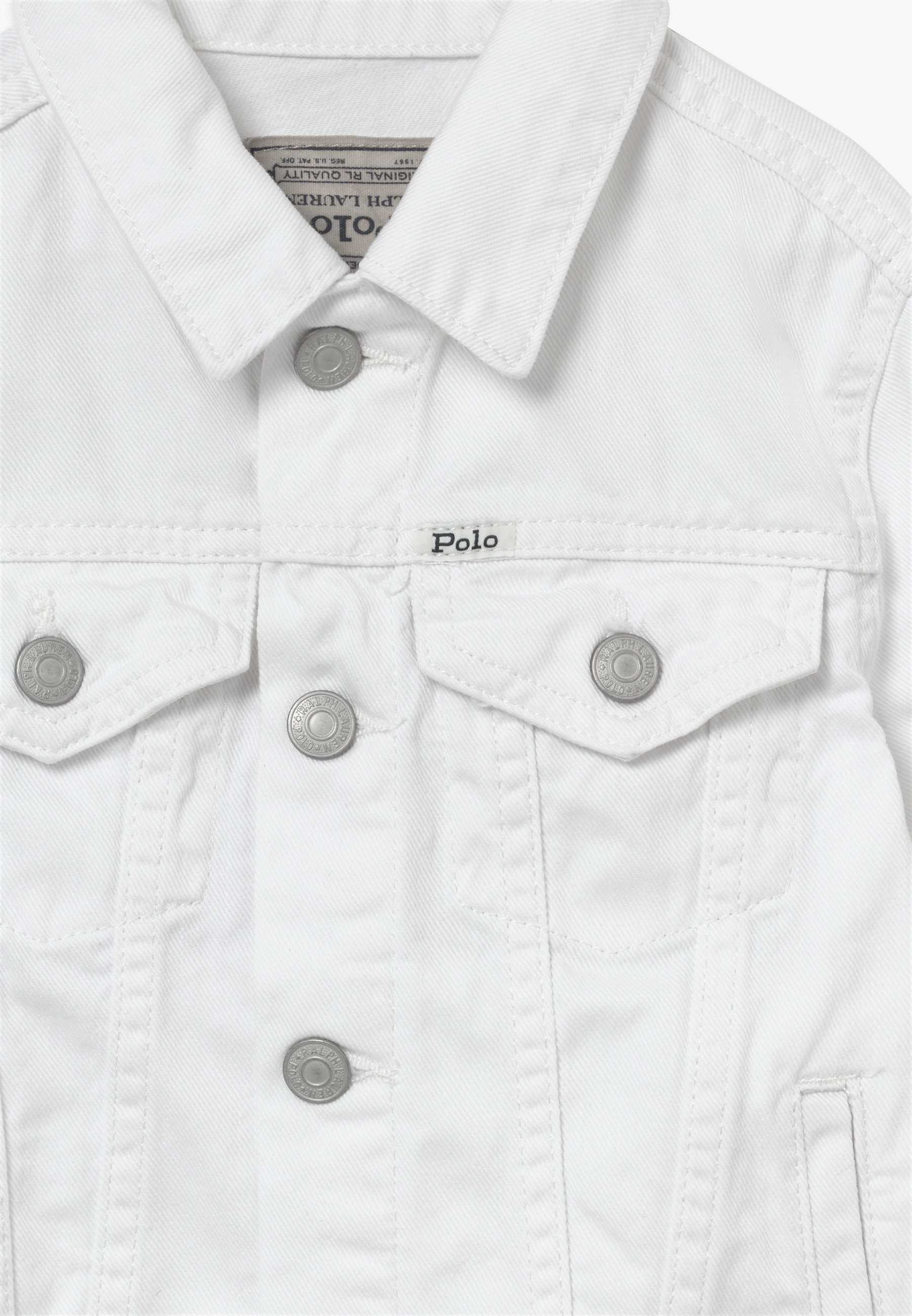 Polo Ralph Lauren Trucker Outerwear - Denim Jacket White