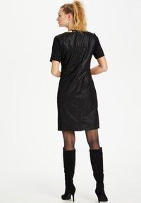 Culture - CULTURE CUALINA  - Shift dress - black - 2