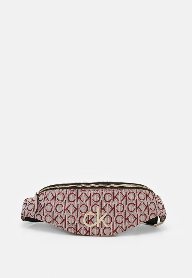 RE LOCK WAISTBAG - Ledvinka - pink