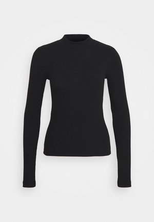 VERA MOCKNECK - Long sleeved top - black