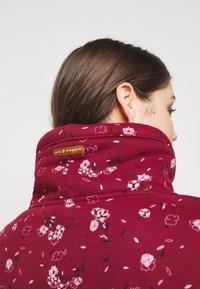Ragwear Plus - NESKA FLOWERS - Hoodie - red - 4