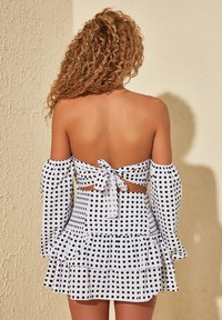 Trendyol - A-line skirt - white - 1