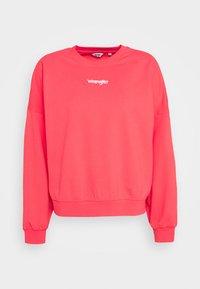 Wrangler - SUMMER WEIGHT - Sweatshirt - paradise pink - 5