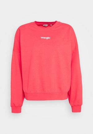 SUMMER WEIGHT - Sweatshirts - paradise pink