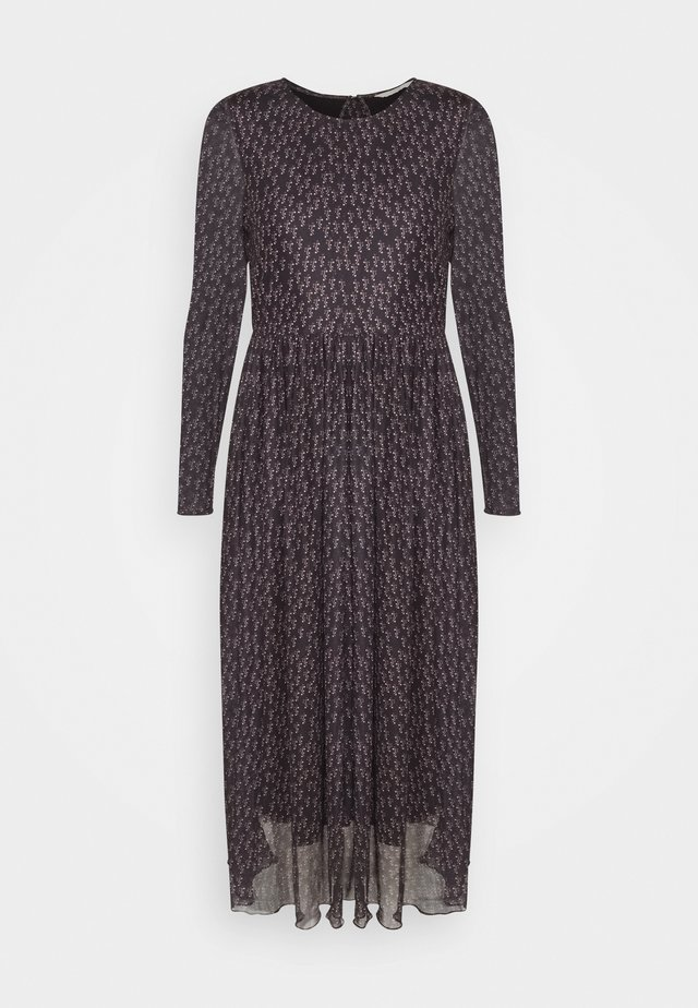 NUFREJA DRESS - Robe longue - caviar