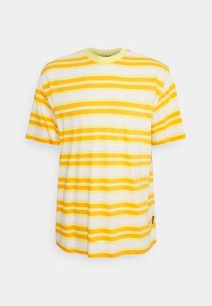 TEE - Print T-shirt - orange / yellow